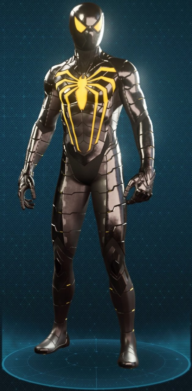 Spider Man Ps4 All Suits And How To Unlock Them Guide Push Square Iron Suit Schematics Anti Ock