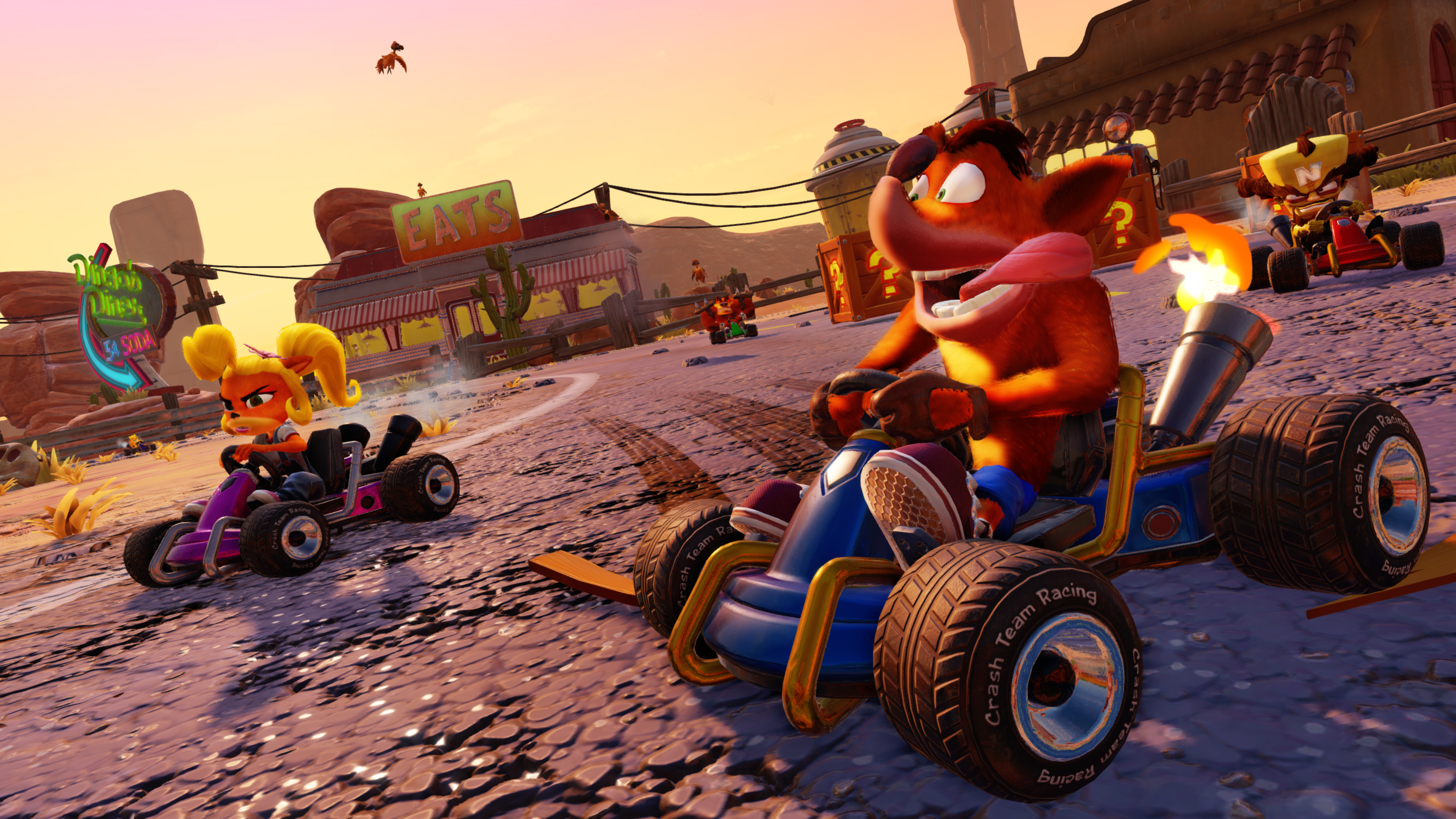 Descargar Crash Team Racing Nitro Fueled Gratis para