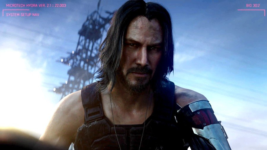 Cyberpunk 2077 Keanu Reeves PS4 PlayStation 4