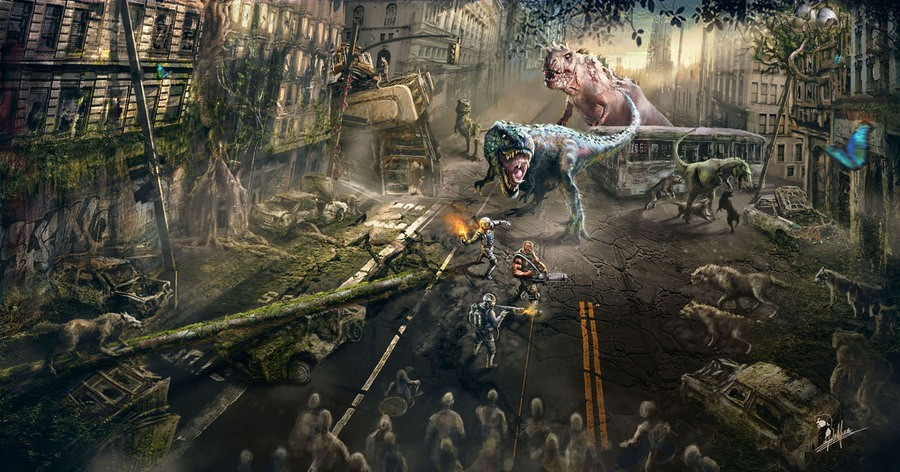 Dead Nation 2 Concept Art Stumbles into Sight