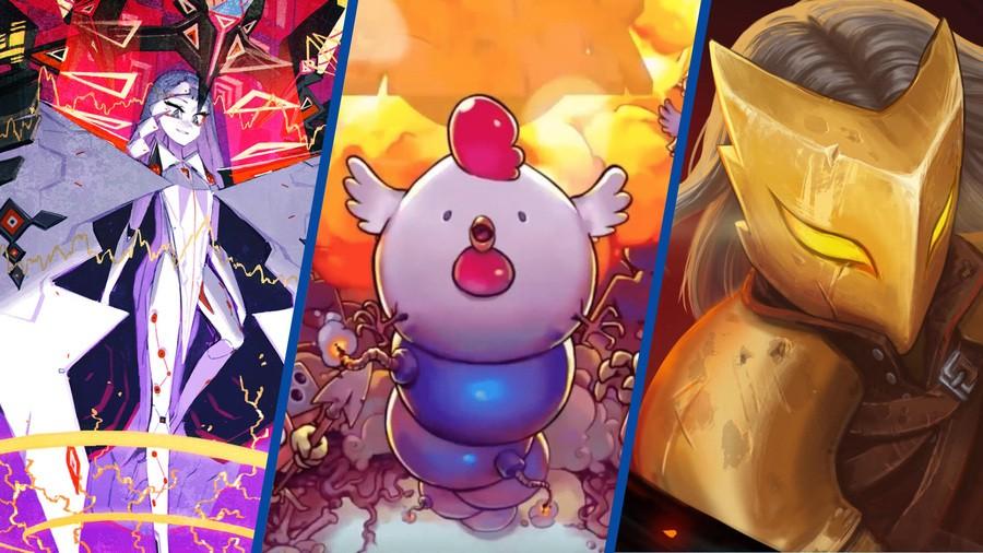 Indie Bin Slay the Spire Bomb Chicken Giga Wrecker ALT PS4 PlayStation 4
