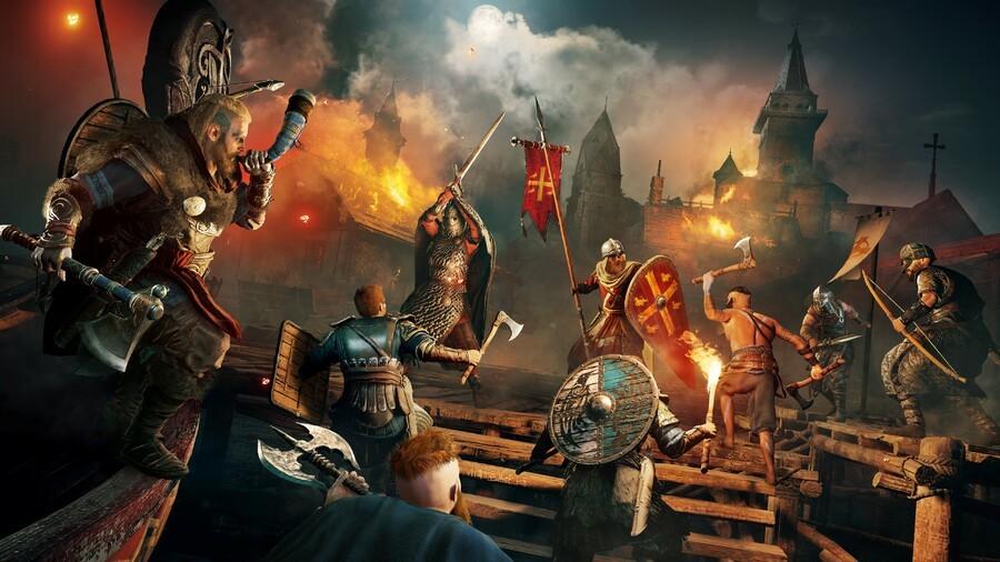 Assassin's Creed Valhalla PS5 Adaptive Triggers