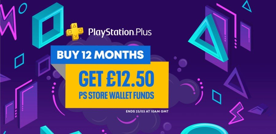 PS Plus Free Credit Sony 1