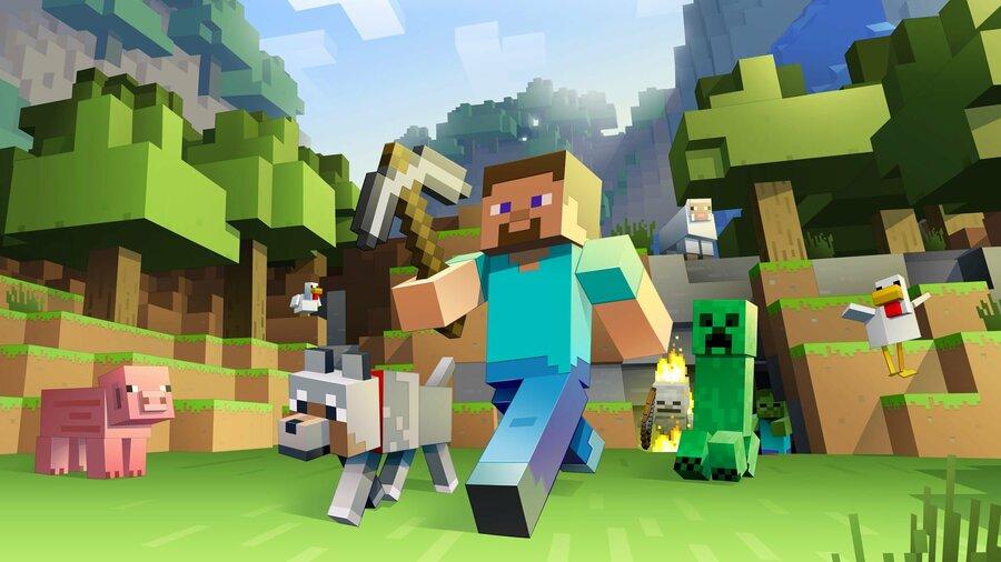Minecraft PS4 PlayStation 4