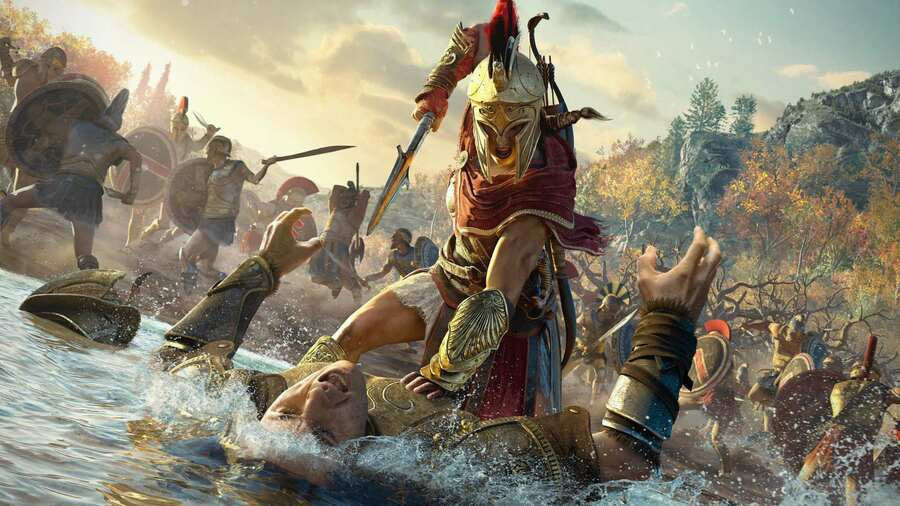 Assassins Creed Odyssey PS4 1