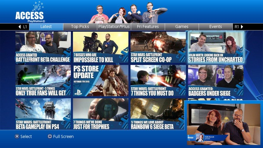 PlayStation Access PS4 PlayStation 4 App