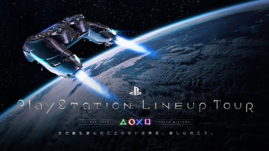 PlayStation LineUp Tour PS4