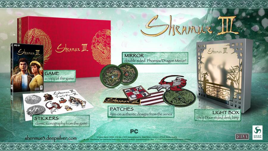 Shenmue III 3 PS4 PlayStation 4 Limited Run