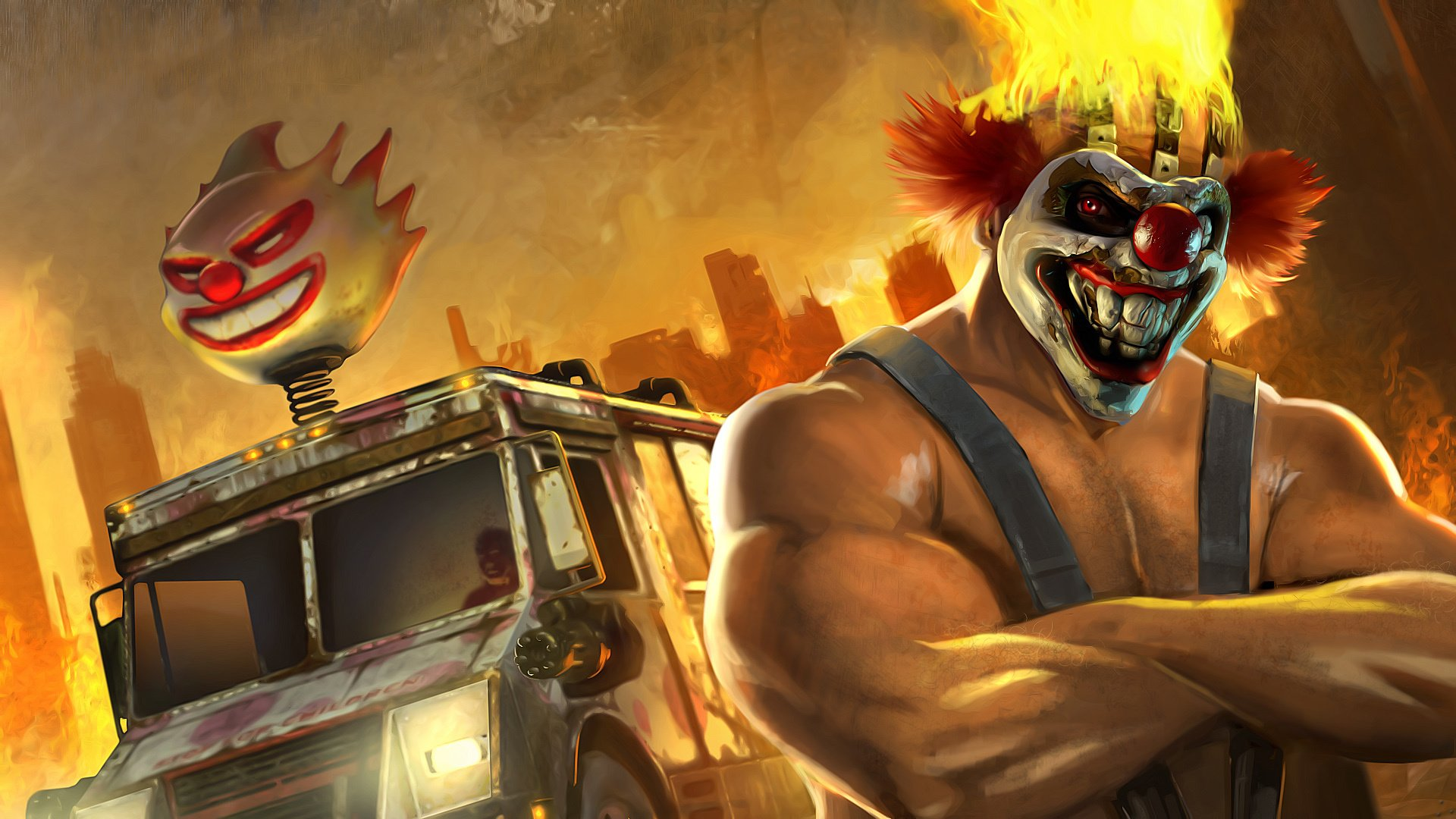 Rumour: PlayStation Productions Is Working on a Twisted Metal TV Series