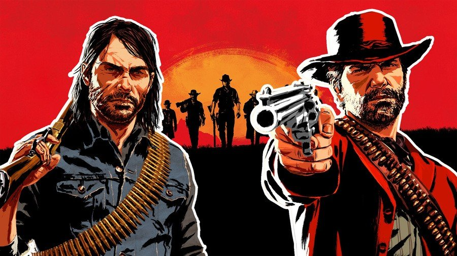 Arthur morgan john marston red dead redemption 2