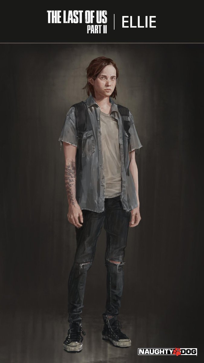 So Many People Are Going To Get Ellie S Tattoo From The Last Of Us Part Ii Push Square