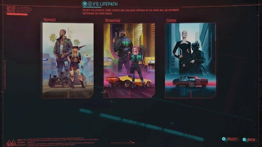 Cyberpunk 2077 Lifepath Guide