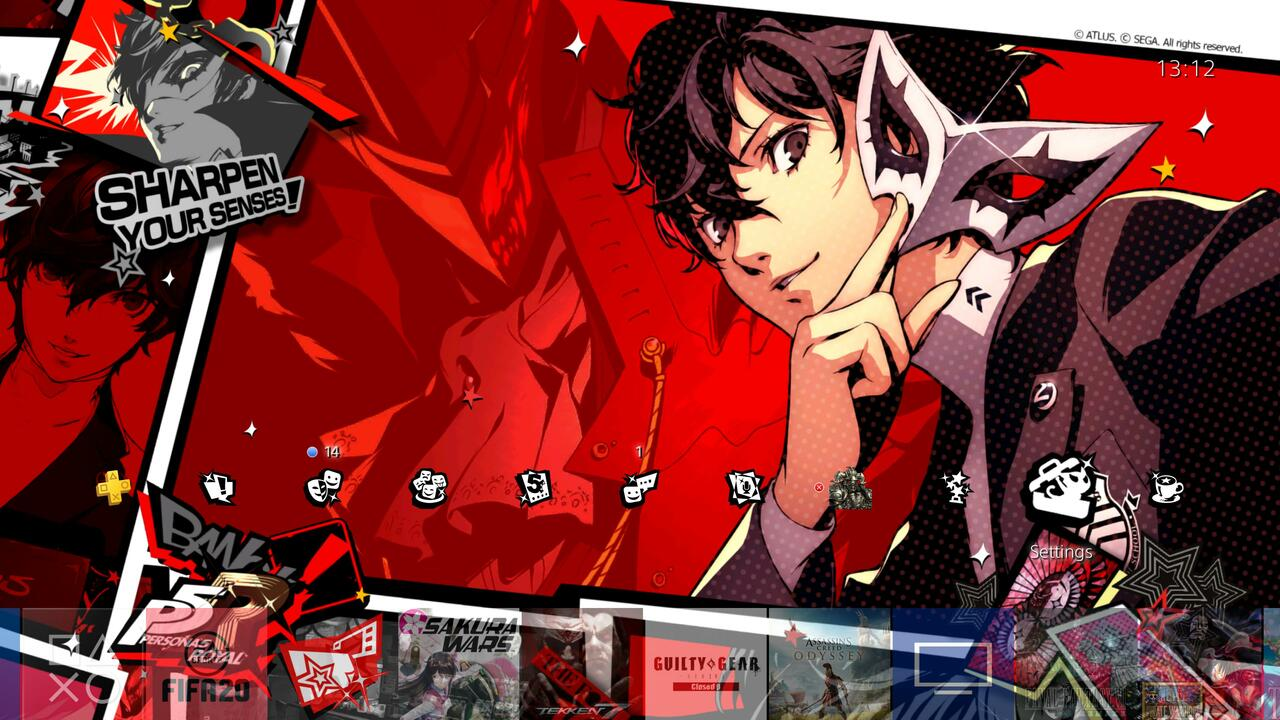 Sony Sending Out Even More Persona 5 Royal Dynamic Ps4 Themes And Avatars Push Square