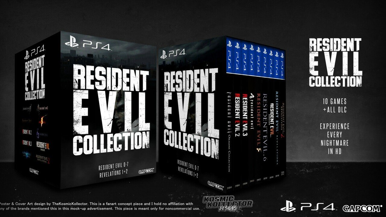 Capcom Should Consider Making This Resident Evil Collection Concept a Reality for PS4