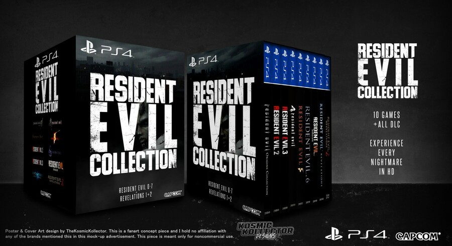 Resident Evil Collection PS4 PlayStation 4 1