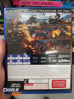 Call of Duty: Black Ops 4 Box 100GB PS4 PlayStation 4