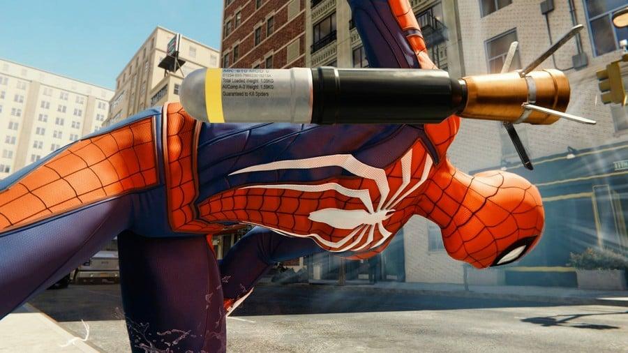 Marvel's Spider-Man Rocket PS4 PlayStation 4