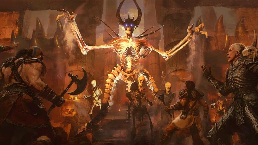 Diablo 2 Resurrected PS5 PS4 Beta