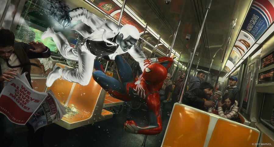 Marvel's Spider-Man PS4 PlayStation 4