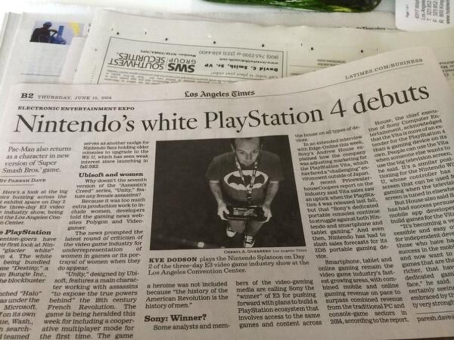 LA Times PS4