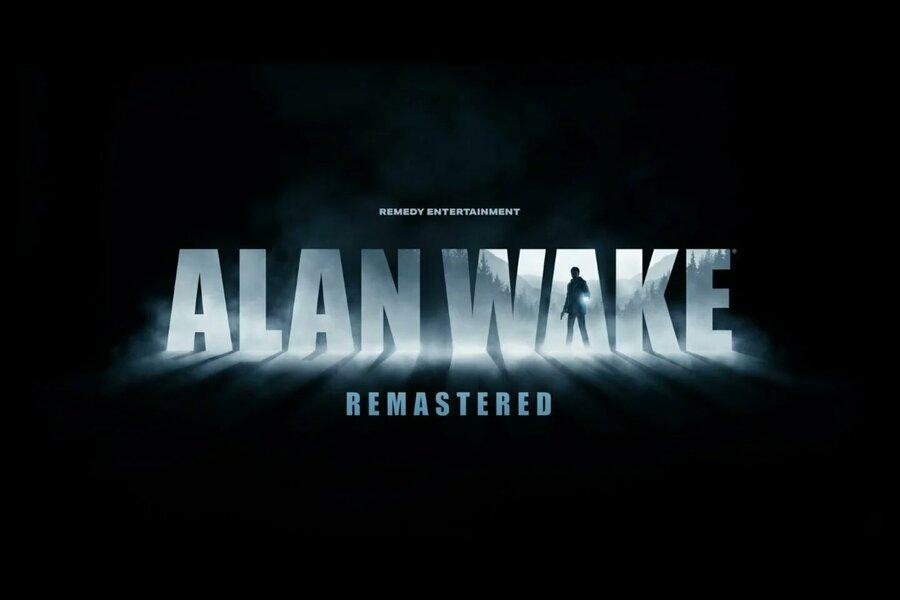 Alan Wake Remastered PS5 PS4