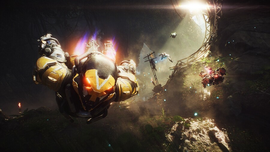 What Can You Play Before Fully Downloading ANTHEM