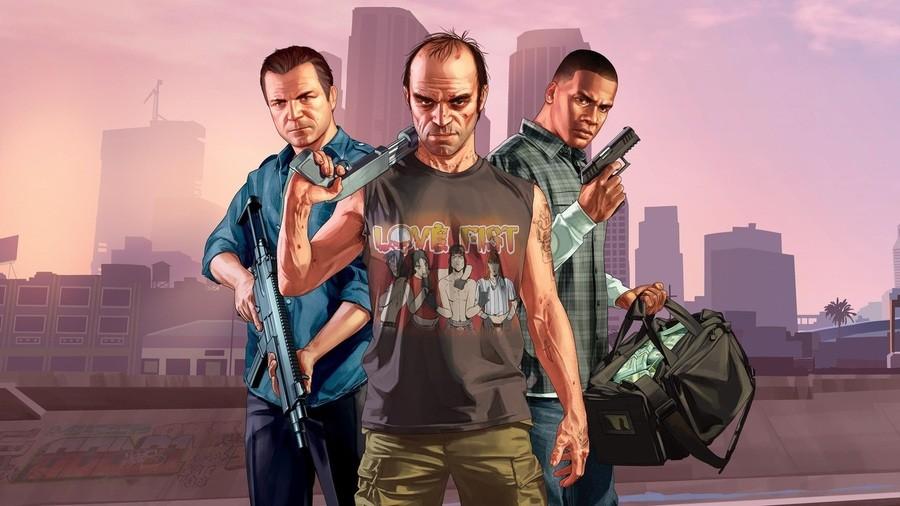 Grand Theft Auto V UK Sales