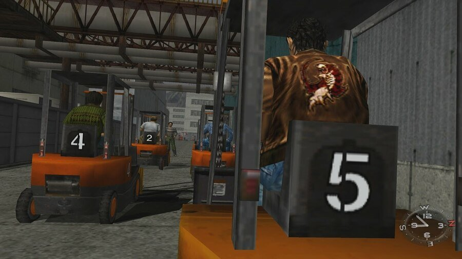 Shenmue How to Get into Warehouse 8 and Meet Master Chen Guide 1