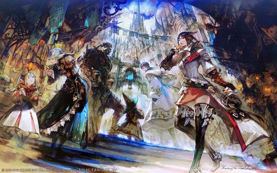 Final Fantasy XIV Profits Player Count