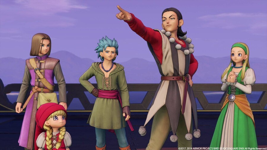 dragon quest xi west sales