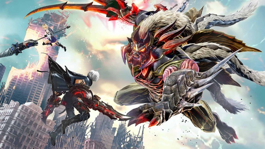 God Eater 3 Action Demo PS4 PlayStation 4
