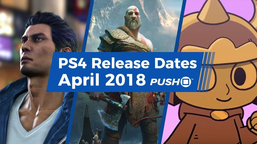 New PS4 Games Releasing in April 2018
