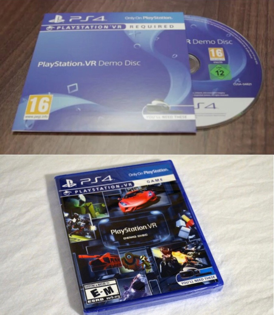 PlayStation VR PS4 PlayStation 4 Demo Disc 1