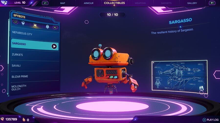 Ratchet & Clank: Rift Apart: All Spybots Locations