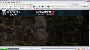 The Official Uncharted 2 Among Thieves Website Is Now Open.