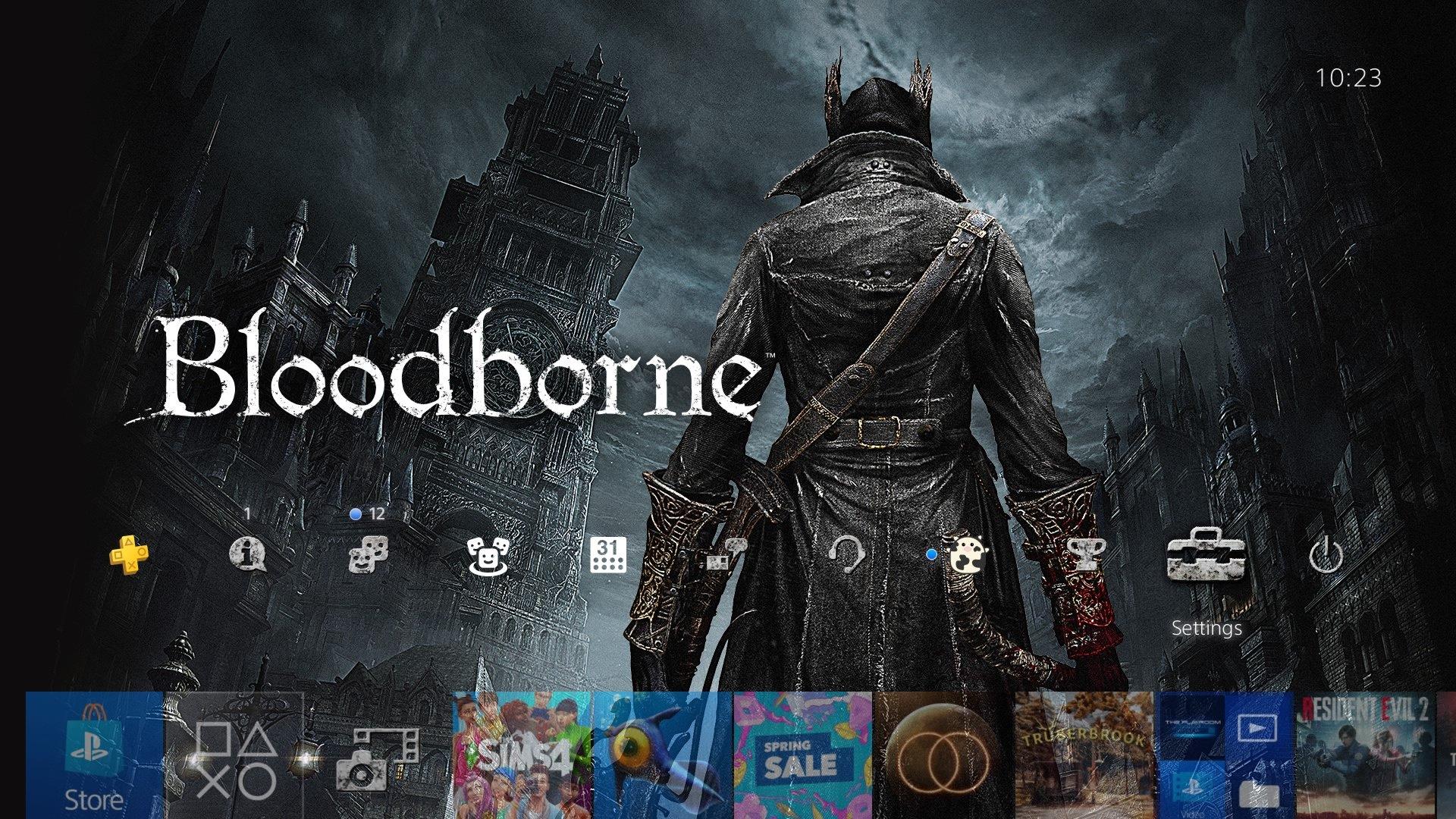bloodborne city of yharnam theme.original - PlayStation 4 - Guida: i migliori temi gratuiti da scaricare