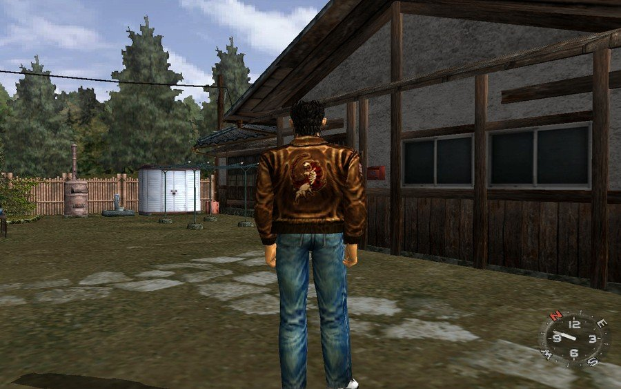 Shenmue How to Find the Flashback in the Yard Guide 1