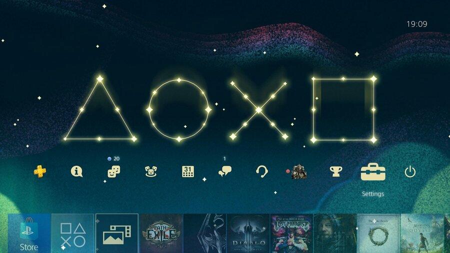 Christmas PS4 Theme