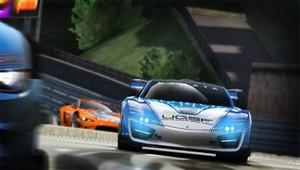 Namco's confirmed that Ridge Racer Vita will be burning rubber online.