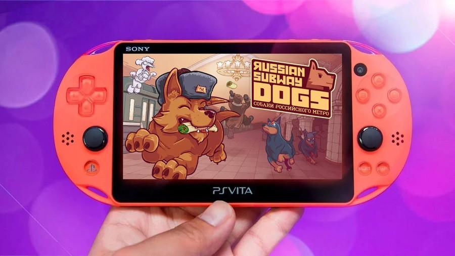 Russian Subway Dogs PS Vita PlayStation 1