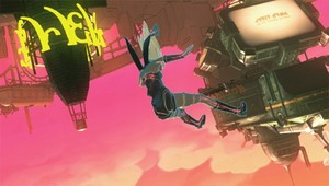 The stunning Gravity Rush will release as a digital exclusive in Europe.
