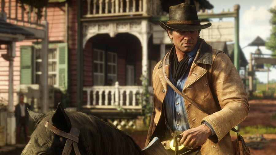 Red Dead Redemption 2 How to Change Your Clothes When on Your Horse Guide 1