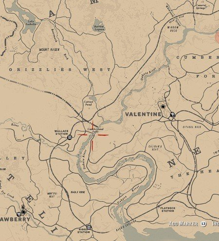 Red Dead Redemption 2 High Stakes Treasure Map Locations 13