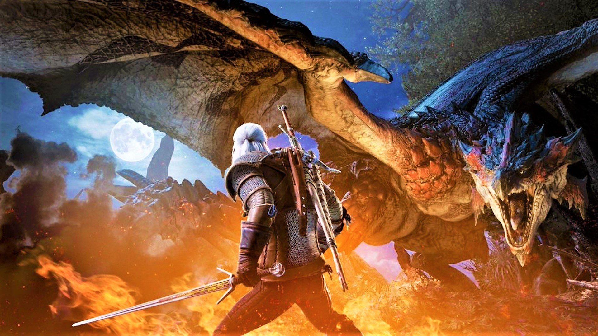Hands On The Amazing Monster Hunter World Witcher Crossover Event