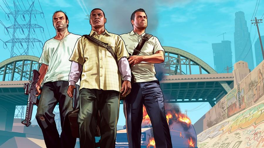 Grand Theft Auto V GTAV PS4 PlayStation 4