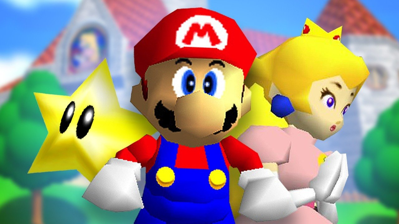 Super Mario 64's Physics Flawlessly Recreated in Dreams