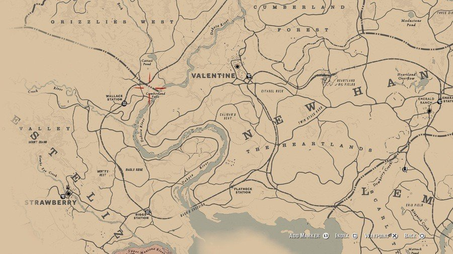 Red Dead Redemption 2 High Stakes Treasure Map Locations 11