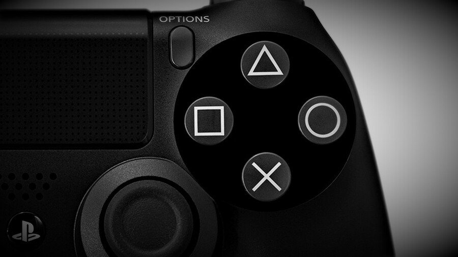 PlayStation PS4 X Button Cross