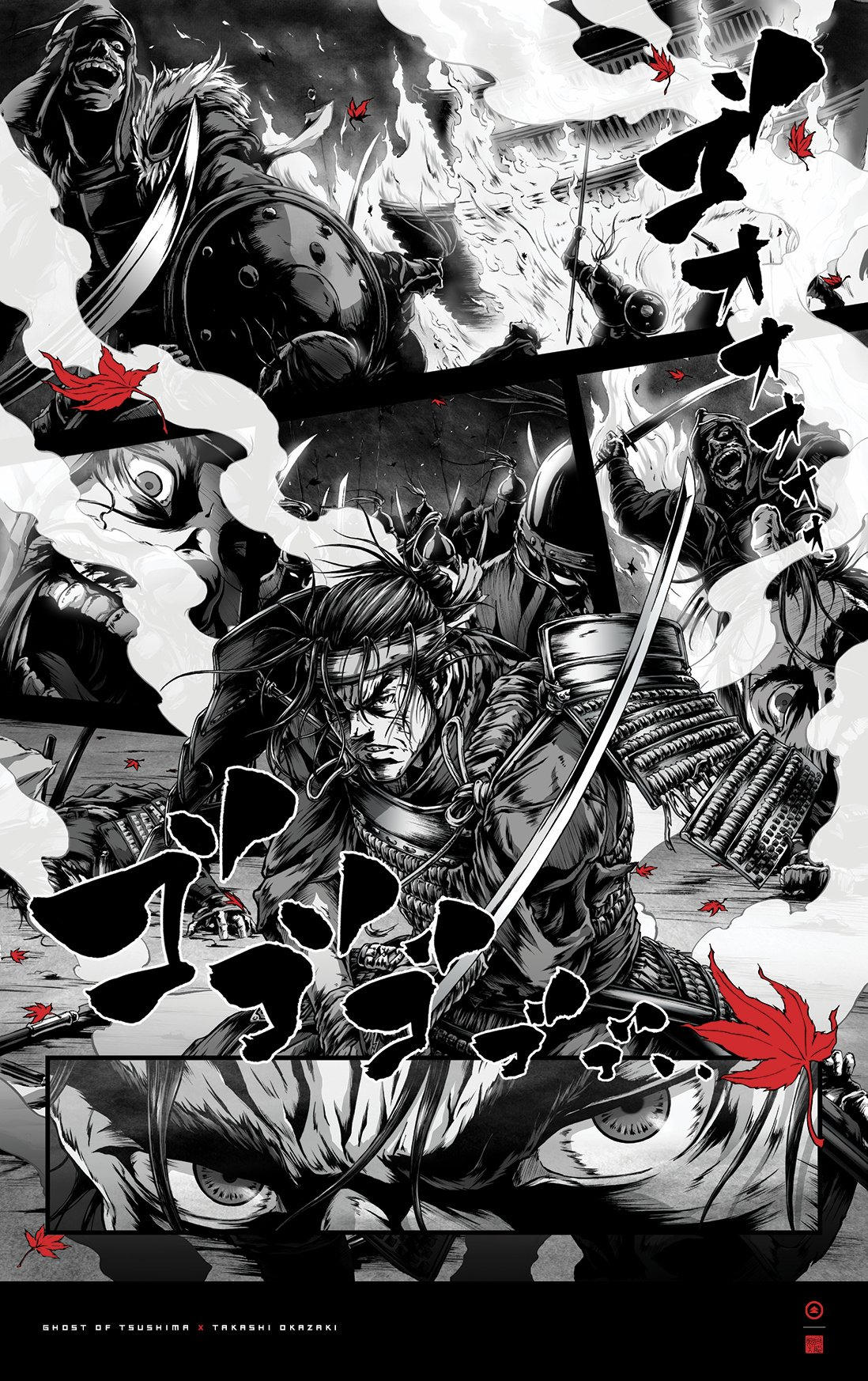 Ghost of Tsushima Manga Posters Are Utterly Jaw-Dropping ...Ghost Of Tsushima