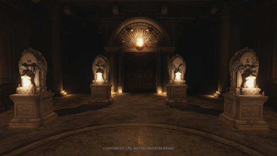 Resident Evil Village: Where to Find All Four Angel Masks and Solve the Hall of the Four Puzzle Guide 1